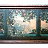 "Maxfield Parrish ""Daybreak"" Print /Period Frame 33"" x 22""/Circa 1920's"
