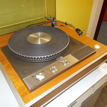 DC record player Garrard 401 - Electronics