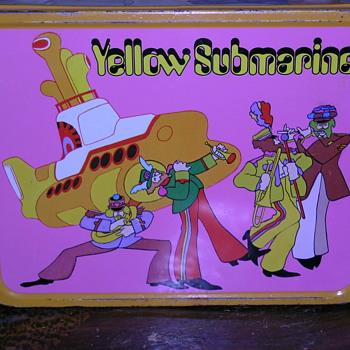 My Beatles Yellow Submarine Lunchbox
