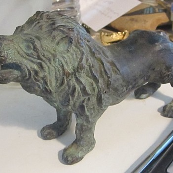 Bronze Lion  - Animals