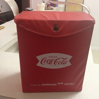 Coca Cola Cooler Box