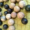 Black Ball Marble Set