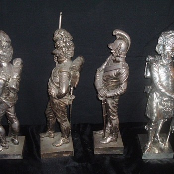Solider`s of the 42nd Black watch - Figurines