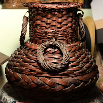 Large Antique Basket from Japan - Asian