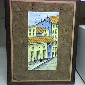 CERAMIC TILE PAINTING