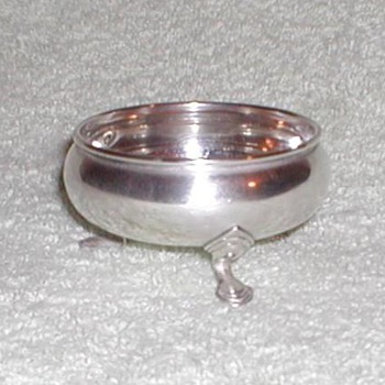 Antique silver salt dish? - Sterling Silver