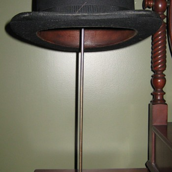Victorian Store Display Hat Stand - Advertising
