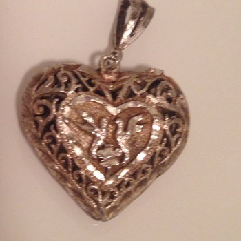 Old Heart Necklace - Fine Jewelry