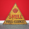 shell tin sign