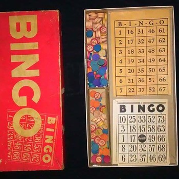 Coca cola bingo game wooden pieces