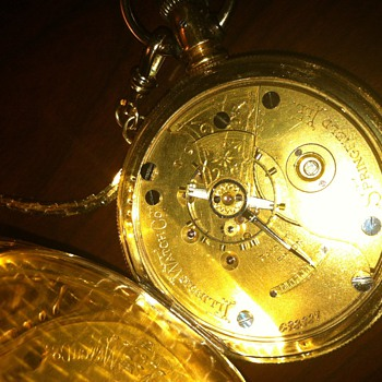 The inside of the watch and the serial number from the inside - Pocket Watches