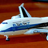 EL AL 4X-ELA model 1:400 