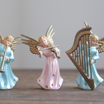 Plastic? Angel Light Covers? similar looking to this - Christmas