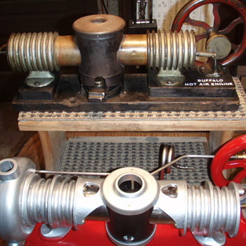Antique Hot Air Engines