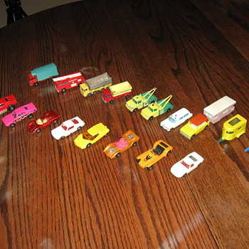MATCH BOX CARS 1969-1973