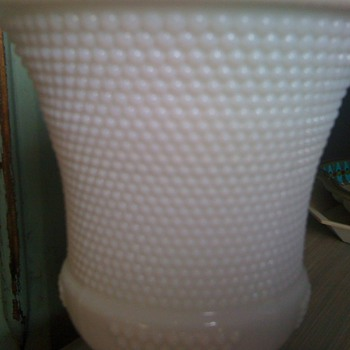 Please identify this pattern of milk glass - Glassware
