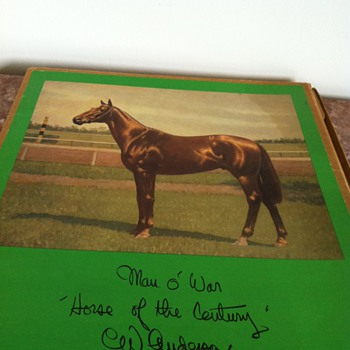 Man O War Folio - Photographs