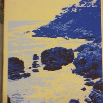 UNSIGN HANDPAINTED OCEAN SCENERY  - Posters and Prints