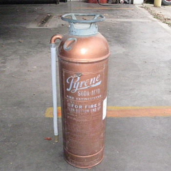 Antique Fire extinguisher - Firefighting
