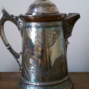 Coffee or Water pitcher  - Sterling Silver