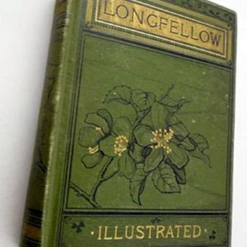 Henry Wadsworth Longfellow Poems, 1884 Illustrated - Books
