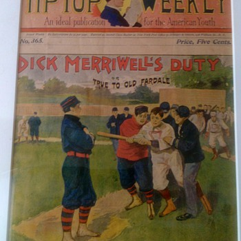 DICK MERRIWELLS DUTY  TIP TOP PUBLICATION  - Baseball