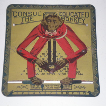 Consul the educated monkey  ORIGINAL!
