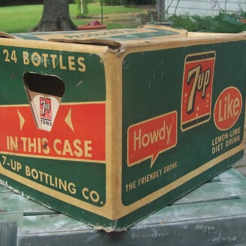 7up Cardboard carry case!
