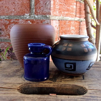 WGP Dumler & Brieden 50's Ceramic Vase - Art Pottery