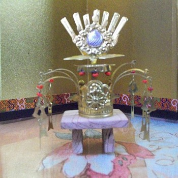 Accesories for the Hina Matsuri