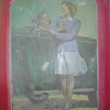 1942 Coca-Cola Tray - Coca-Cola