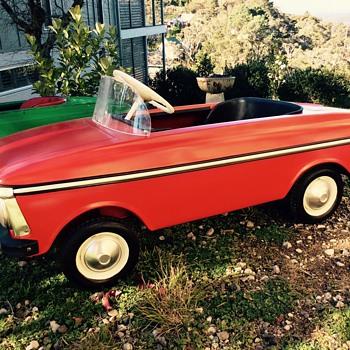 Moskvich Pedal Car 1988 Gen III
