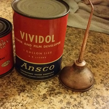 ansco vividol can found it at my house and am unable to identify