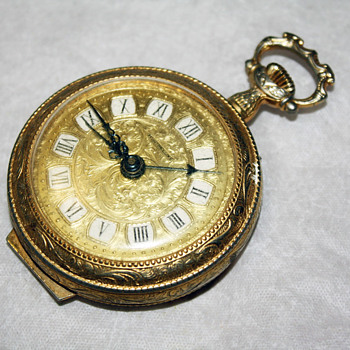 Gold-Plated Pocketwatch