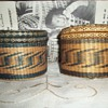 Two Trinket Baskets Purchased in 1946 at Cherokee Reservation in Western North Carolina