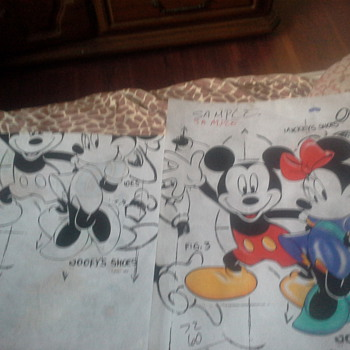 Micky Mouse sample sketches