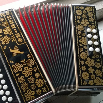 Hering Diatonic Accordion - Musical Instruments