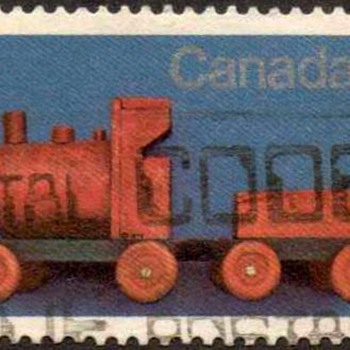 "1979 - Canada ""Christmas - Toys"" Postage Stamps - Stamps"