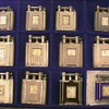 silver clock lighters