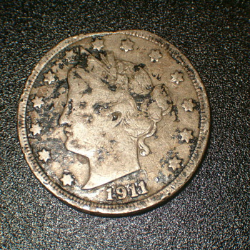 1911 Libery Head Nickel  - US Coins