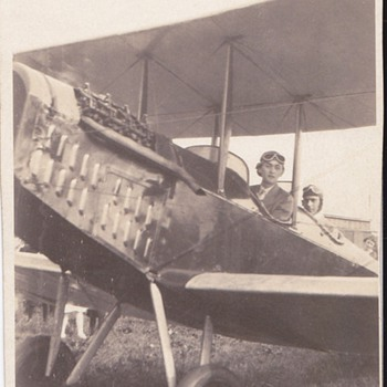 Vintage  Pic of Old Airplane