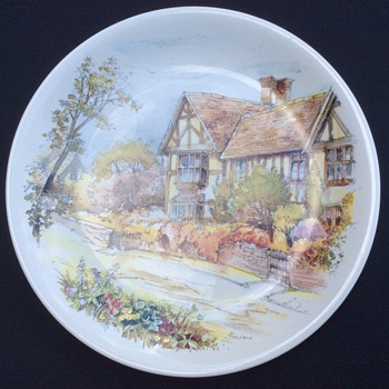 Poole plate - China and Dinnerware