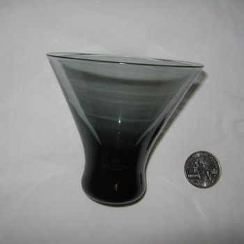 possible WMF Wilhelm Wagenfeld Turmalin glass - Glassware