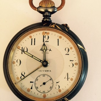 Japanese inlaid watch. - Pocket Watches