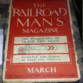 Railroad magazines - Railroadiana