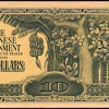 1942 - Malaya - (10) Dollars - (Japanese Invasion Currency)