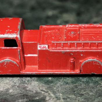 Old Fire Truck - Midgetoy, Rockford, Ill