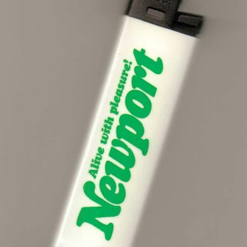 """Newport"" Disposable Lighter - Tobacciana"
