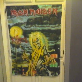 Iron Maiden Tour Banner