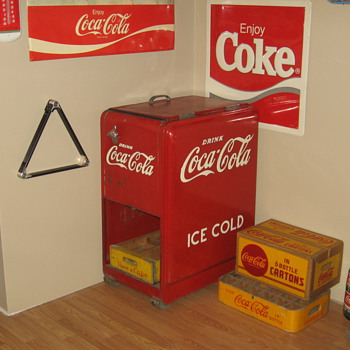 1939 Westinghouse Junior Cooler - Coca-Cola